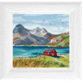 Lofoten Island Cross Stitch Kit by Mp Studia
