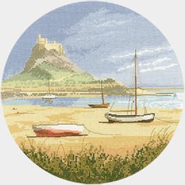Lindisfarne cross stitch kit by John Clayton