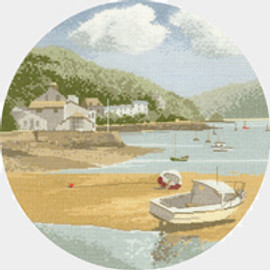 Low Tide  cross stitch kit by John Clayton