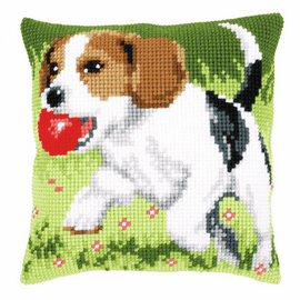 Cross Stitch Kit: Cushion: Beagle By Vervaco
