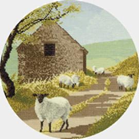 Sheep Track  cross stitch kit by John Clayton