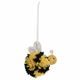 Pom Pom Decoration Kit: Bee