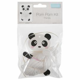 Pom Pom Decoration Kit: Panda
