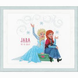 Disney Frozen Sisters Cross Stitch Kit by Vervaco
