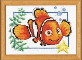 Nemo Disney Cross Stitch Kit by Vervaco