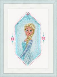 Disney Frozen Heart Cross Stitch Kit by Vervaco