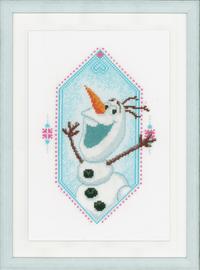 I'm Olaf Disney Cross Stitch Kit by Vervaco