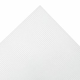 Needlecraft Fabric Plastic Canvas 10 Mesh Rectangle: 26 x 33.5cm