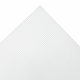 Needlecraft Fabric Plastic Canvas 14 Mesh Rectangle: 21 x 28cm