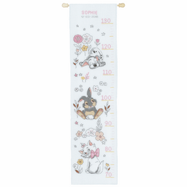 Disney Little Dalmatian Cross Stitch Kit Height Chart