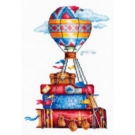 TRAVEL STORIES cross stitch kit by Andriana