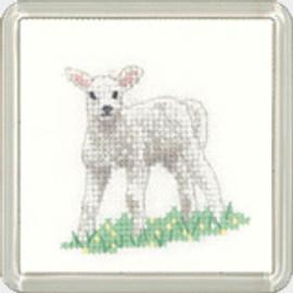 Lamb Coaster Kit  By Heritage Crafts