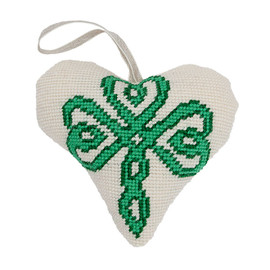 Celtic Lavender Heart Tapestry  kit by Cleopatra