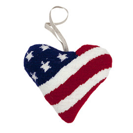 Stars and Stripes Tapestry Heart Kit By Cleopatra