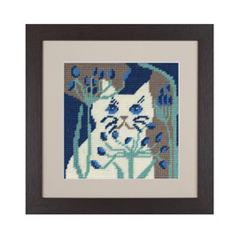 Belle Cat Tapestry Kit by Cleopatra