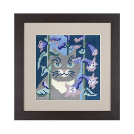 Smokey Cat Tapestry Kit by Cleopatra