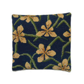 Yellow Iris Herb Pillow Tapestry Kit By Cleopatra