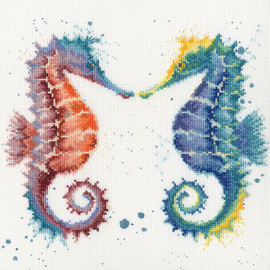 Shell we Dance Cross Stitch Kit by Bothy Threads