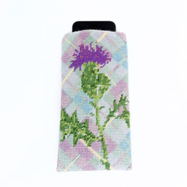 Tartan Phone or Spectacles Case Tapestry Kit