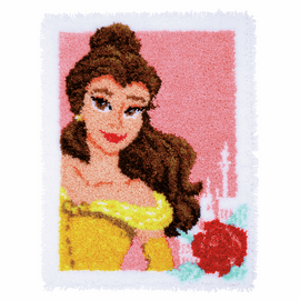 Latch Hook Kit: Rug: Disney: Enchanted Beauty