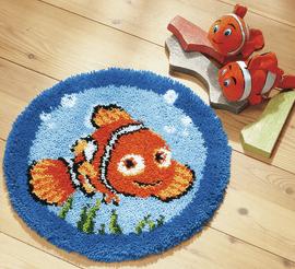 Latch Hook Kit: Shaped Rug: Disney: Nemo