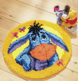 Latch Hook Kit: Shaped Rug: Disney: Eeyore