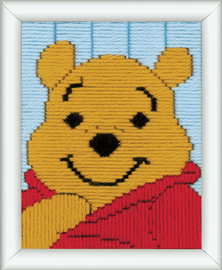 Long Stitch Kit: Disney: Winnie The Pooh By Vervaco