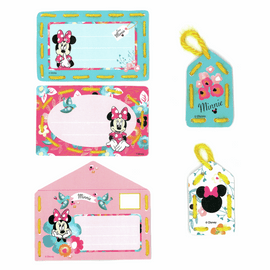 Embroidery Kit: Cards: Disney: Minnie - Daydreaming: Set of 5 By Vervaco