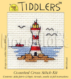 Lighthouse Cross Stitch Kit by Mouseloft