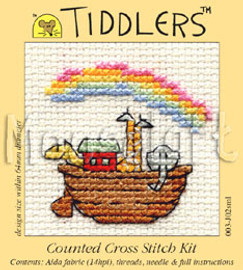 Noah's Ark Cross Stitch Kit by Mouse loft