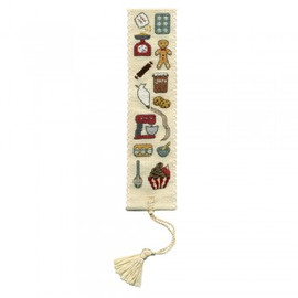 Baking Bookmark Cross Stitch Kit By Textile Heritage