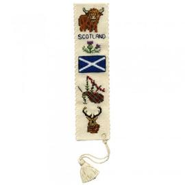 Symbols of Scotland Bookmark By Textile Heritage