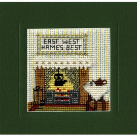 Hame's Best Miniature Card By Textile Heritage