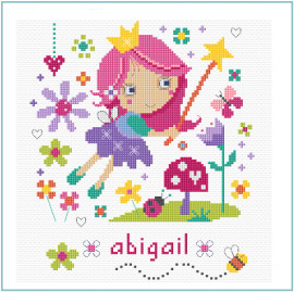 Flower Fairy Cross Stitch Kit By Stitching Shed