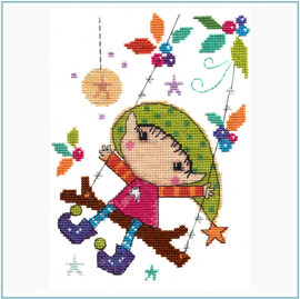 Playtime Cross Stitch Kit by Stitching Shed
