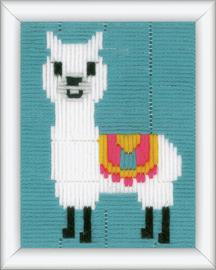 Long Stitch Kit: Llama by Vervaco