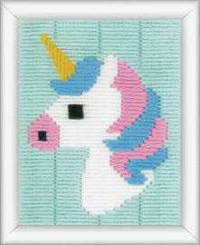 Long Stitch Kit: Unicorn by Vervaco