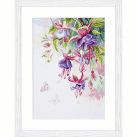 Counted Cross Stitch Kit: Fuchsia by Vervaco