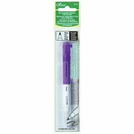 Pen: Fabric Marker with Eraser: Air Erasable: Fine: Purple