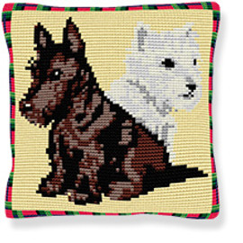 Highlanders Tapestry cushion kit by Brigantia
