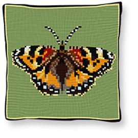 Tortoise Shell Tapestry cushion kit by Brigantia
