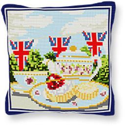 Afternoon Tea Tapestry Kit by Brigantia