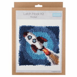 Latch Hook Kit: Rocket By Trimmit