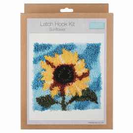 Latch Hook Kit: Sunflower By Trimmit