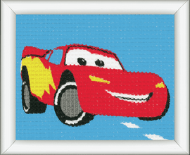 Tapestry Kit: Disney: Lightning McQueen  By Vervaco