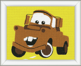 Tapestry Kit: Disney Cars: Mater By Vervaco