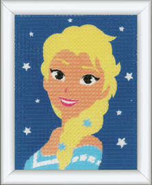Long Stitch Kit: Disney: Frozen - Elsa By Vervaco