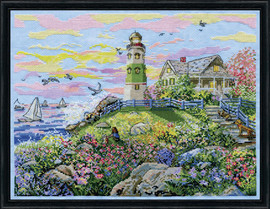 Watching the Sunset Cross Stitch Kit By Design Works