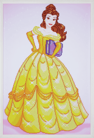Diamond Painting Kit: Disney: Belle By Vervaco