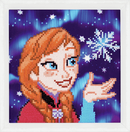 Diamond Painting Kit: Disney: Anna By Vervaco